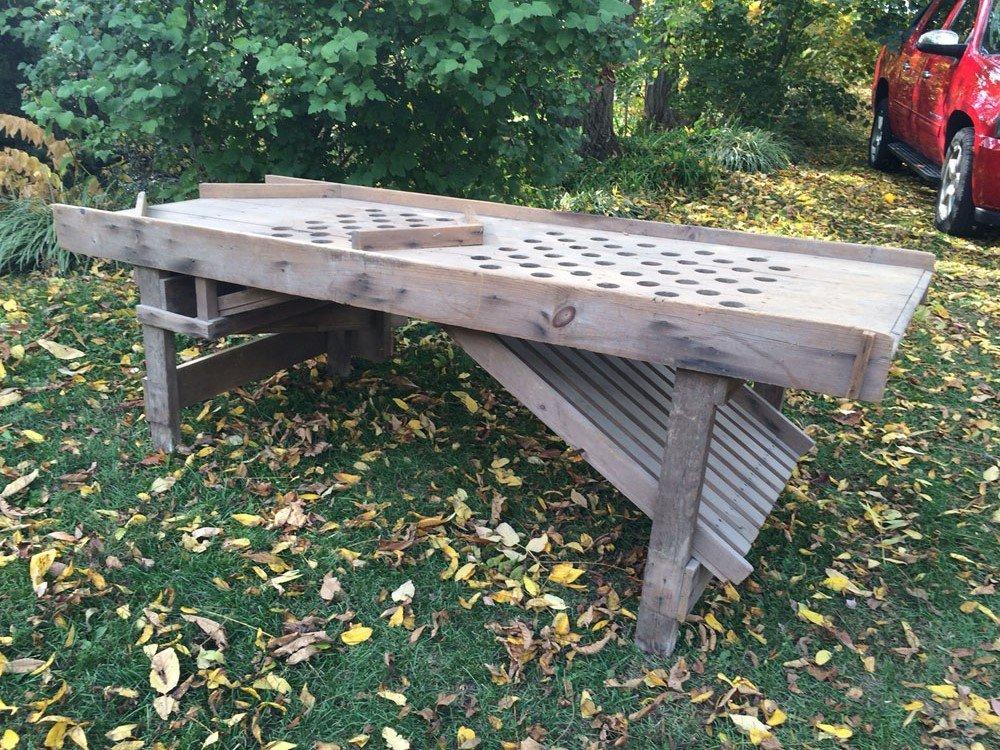 Antique Table Apple Sorter - 2