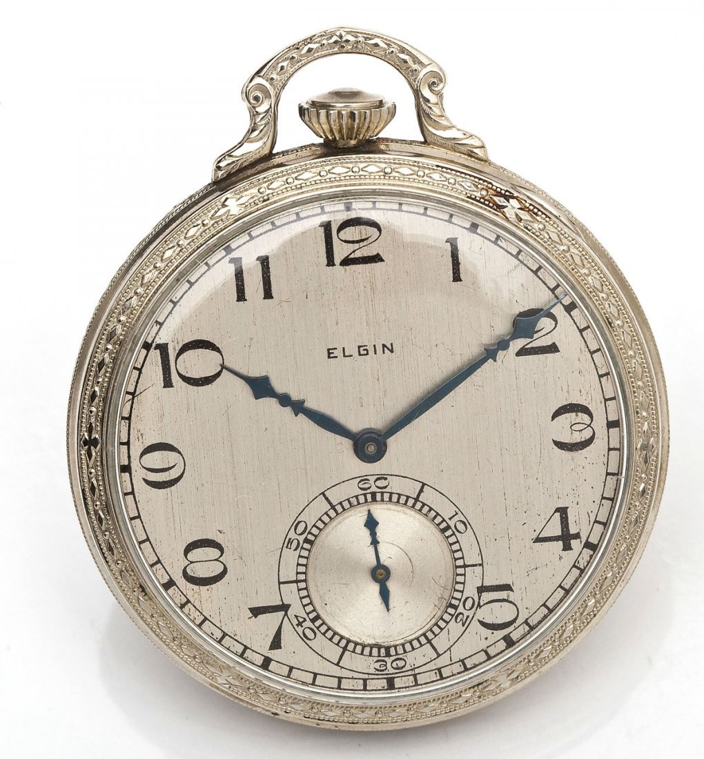 Elgin 14K GF Pocketwatch