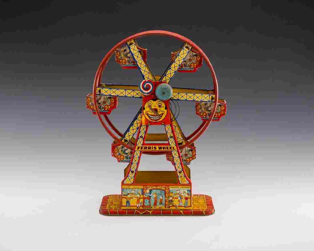 Chein Tin Litho Hercules Ferris Wheel