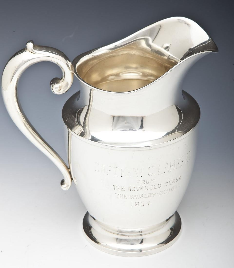 1934 Wallace Sterling Presentation Pitcher