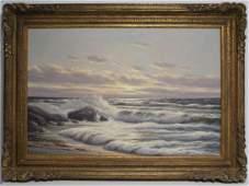 Otto Neutchmann, Oil Painting on Canvas