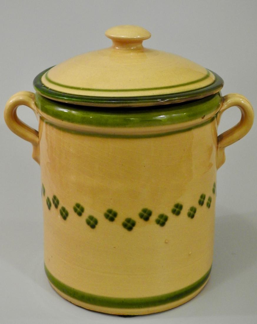 Large Italian Ceramic Kitchen Container