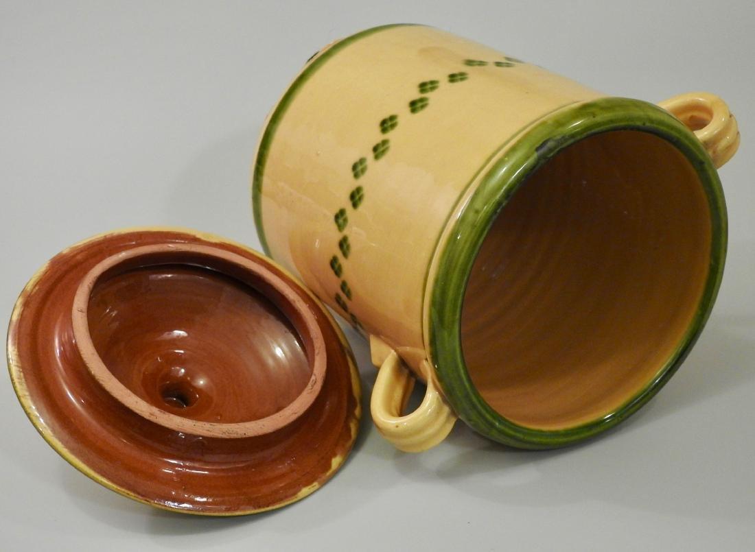 Large Italian Ceramic Kitchen Container - 2