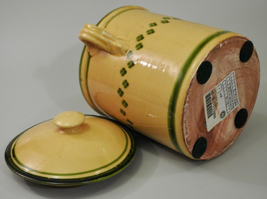 Large Italian Ceramic Kitchen Container - 3
