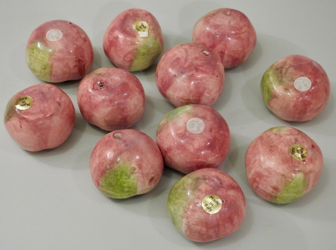 Italian Pomodoro Ceramic Green Tomatoes Lot of 11 - 3