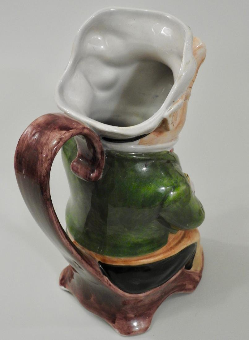 Figural Pig Wine Jug Pitcher - 3