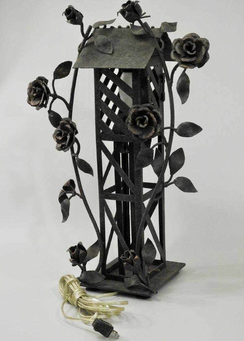 Derrick Rose Unique Wrought Iron Novelty Table Lamp