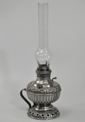 Rare Tiny Juno Antique Kerosene Lamp