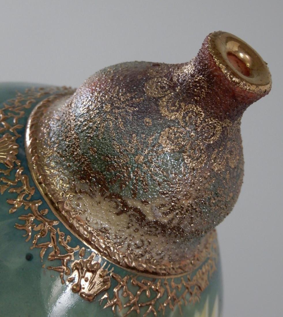 Antique Gold Moriage Painted Royal Bonn Porcelain Vase - 4