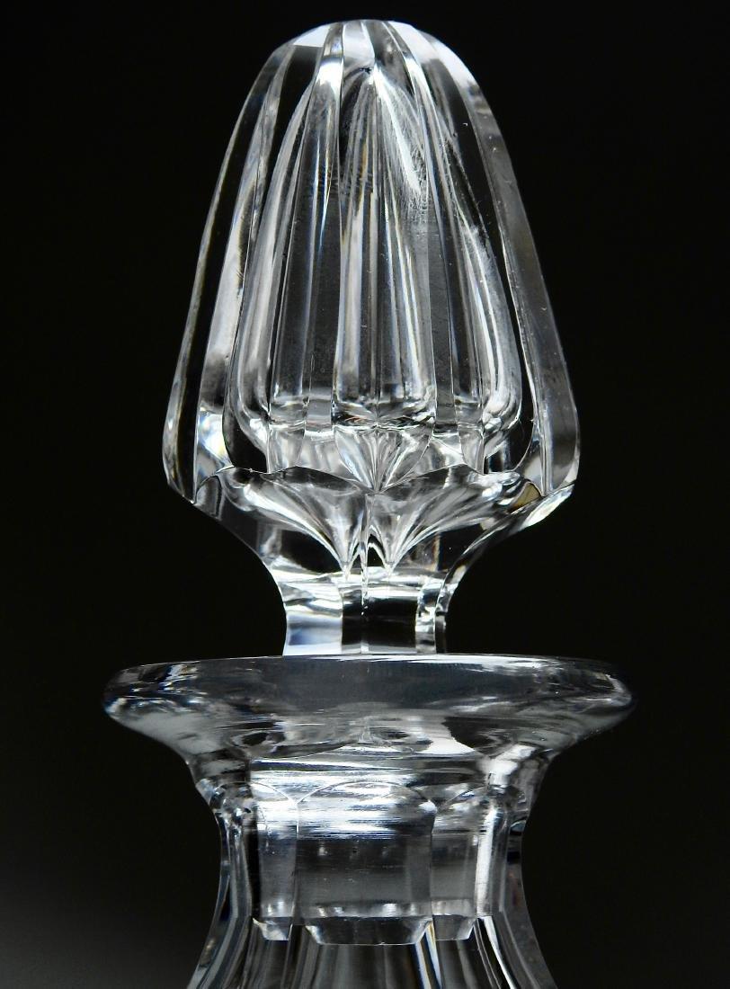 Quality Vintage Optical Glass Crystal Spirit Decanter - 5