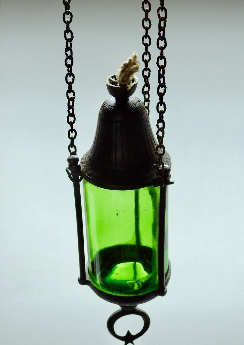 Mediterranean Lantern Turkish Style Chain Hanging Oil - 2