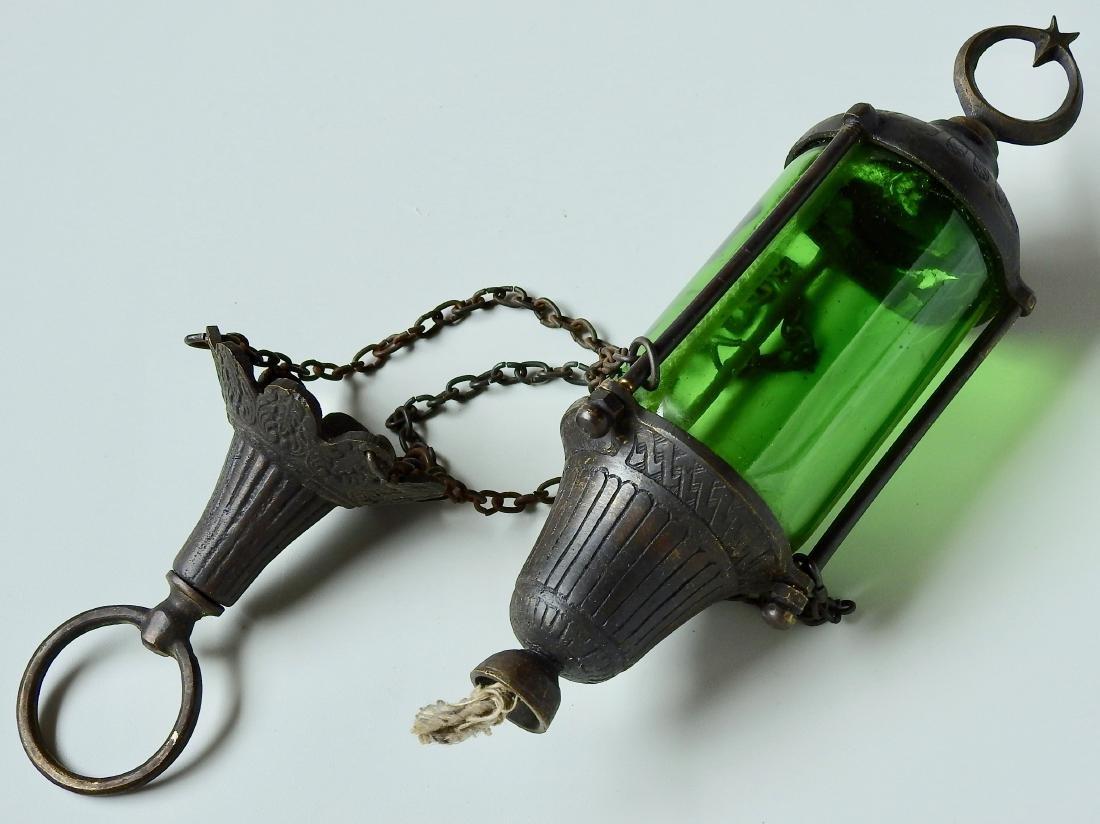 Mediterranean Lantern Turkish Style Chain Hanging Oil - 5