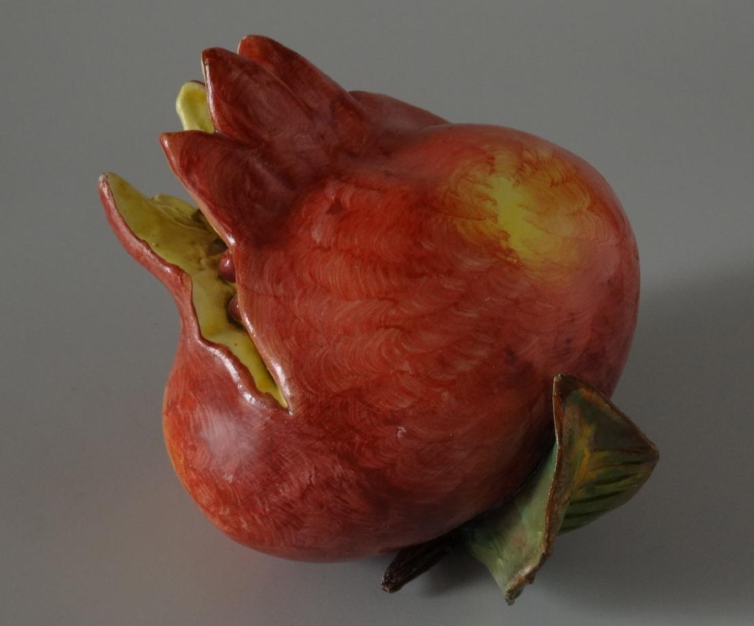 Art Studio Ceramic Hand Molded Painted Fruit - 2