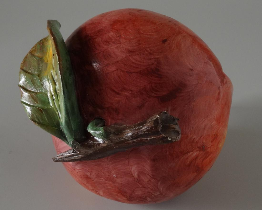 Art Studio Ceramic Hand Molded Painted Fruit - 4