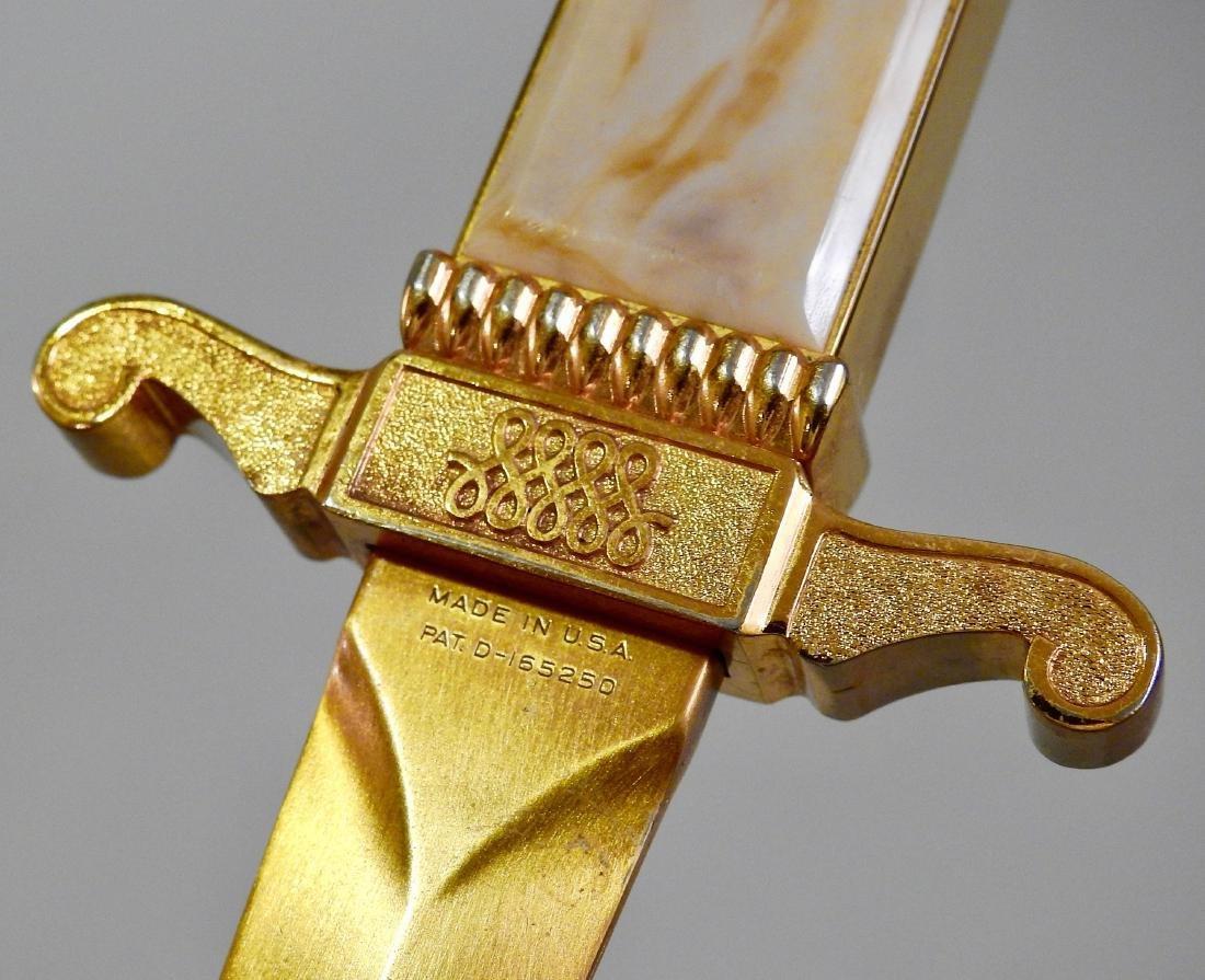 Vintage Ascot ASR Dagger Lighter Letter Opener - 3