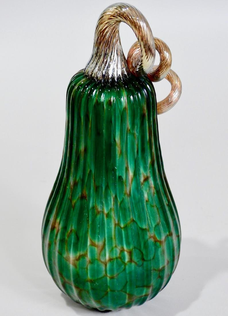 Art Glass Squash Sculpture - 2