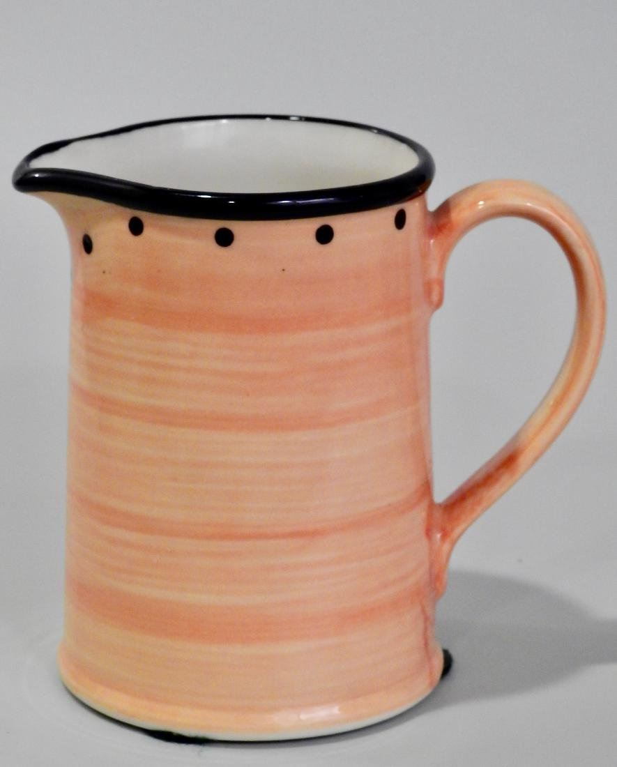 Small English Pitcher Ulster Ceramics Yellow