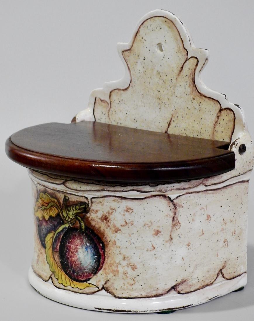 Fresco Rustico Italian Cucina Pottery Spice Box