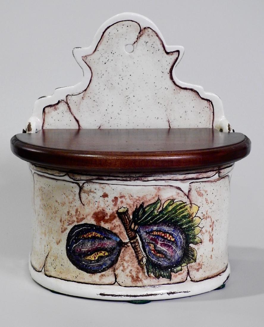 Italian Fresco Rustico Fig Spice Box Kitchen Container