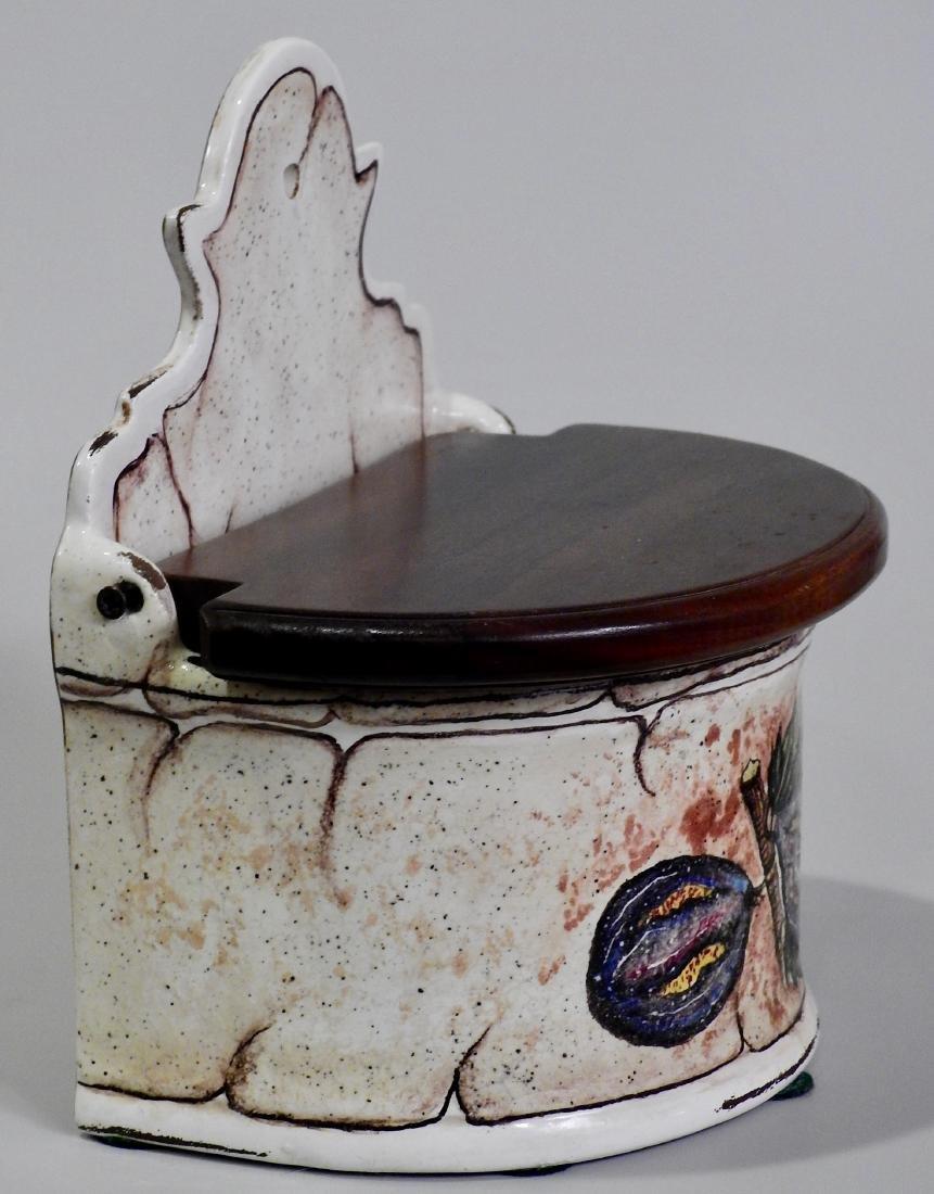 Italian Fresco Rustico Fig Spice Box Kitchen Container - 2