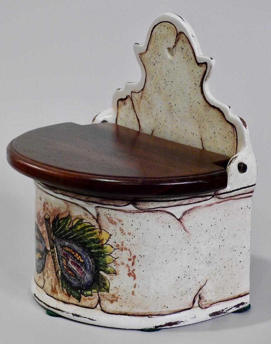 Italian Fresco Rustico Fig Spice Box Kitchen Container - 4