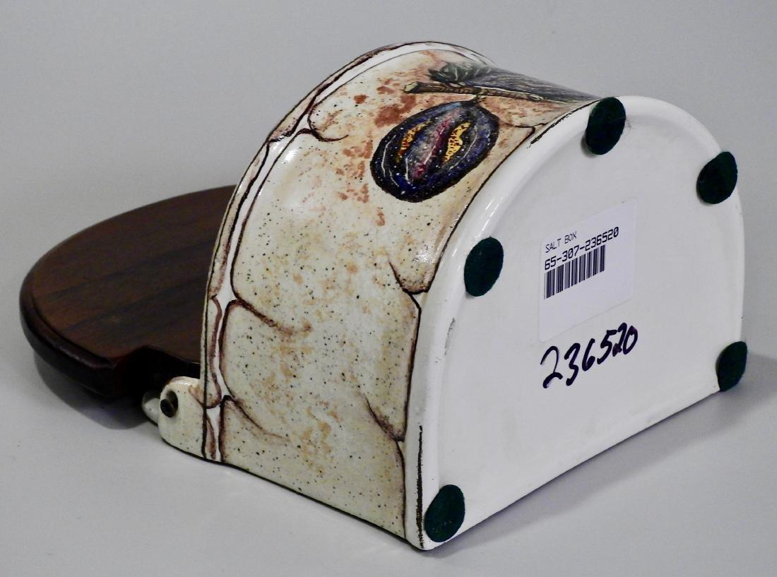Italian Fresco Rustico Fig Spice Box Kitchen Container - 5