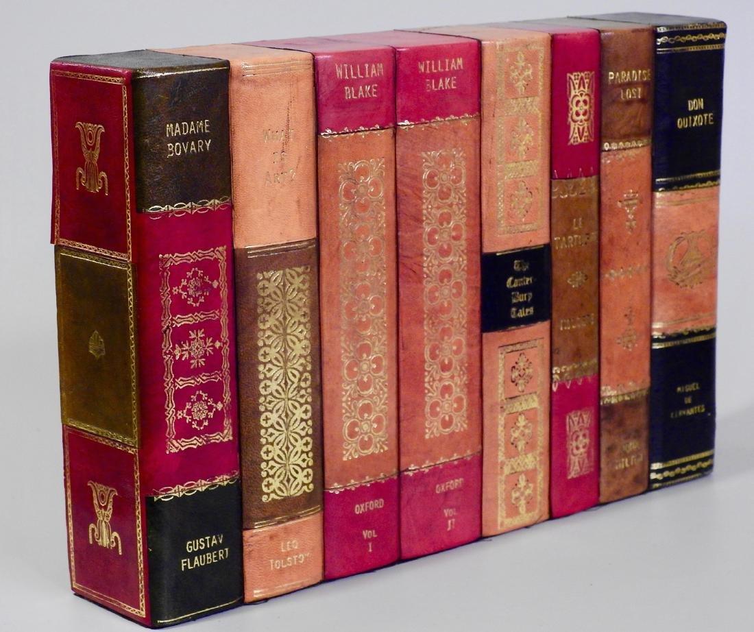 Faux Books Shelf Hide Designer Decorative Leather Bound