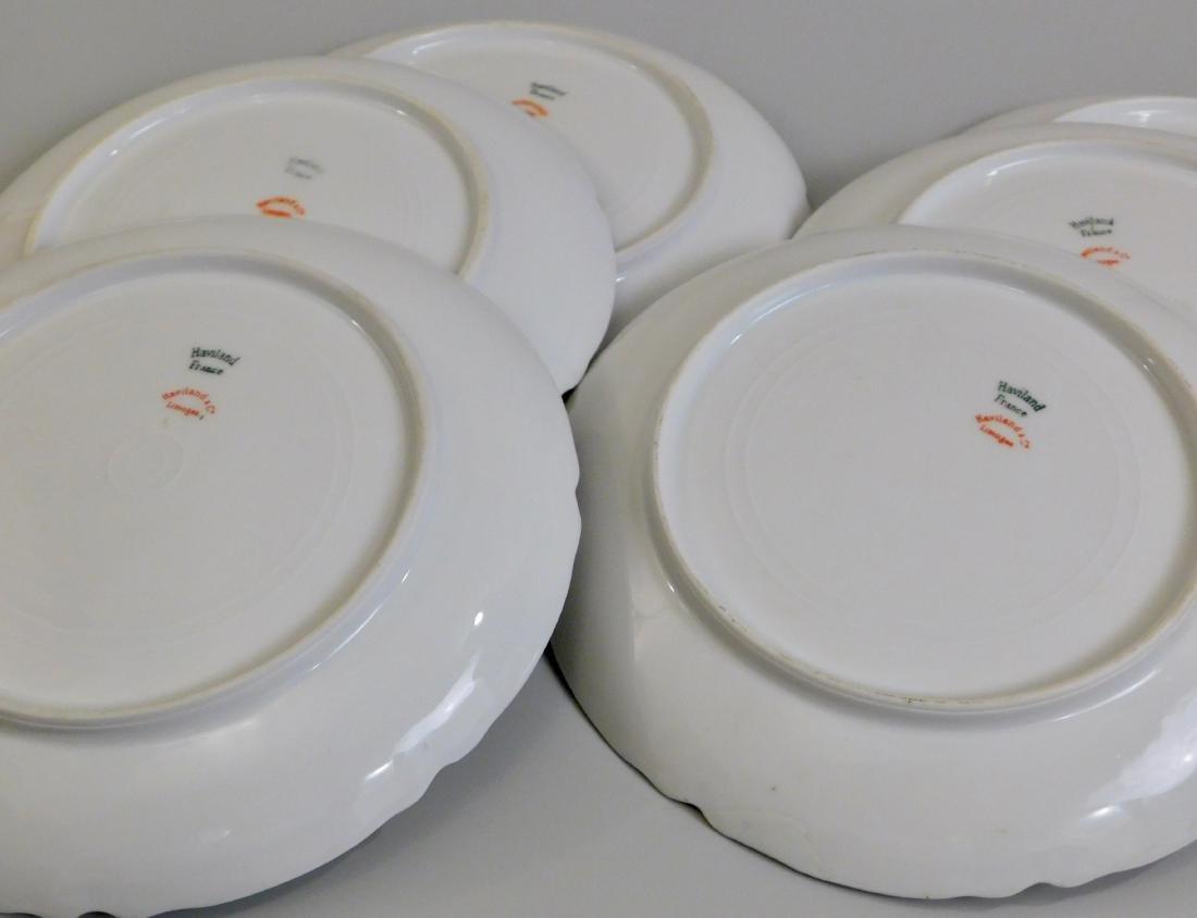 Limoges Haviland French Porcelain Plates Set of 6 - 2