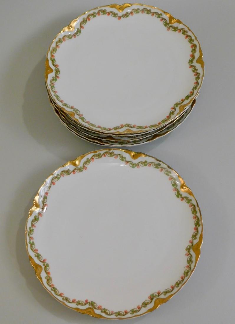 Limoges Haviland French Porcelain Plates Set of 6 - 4