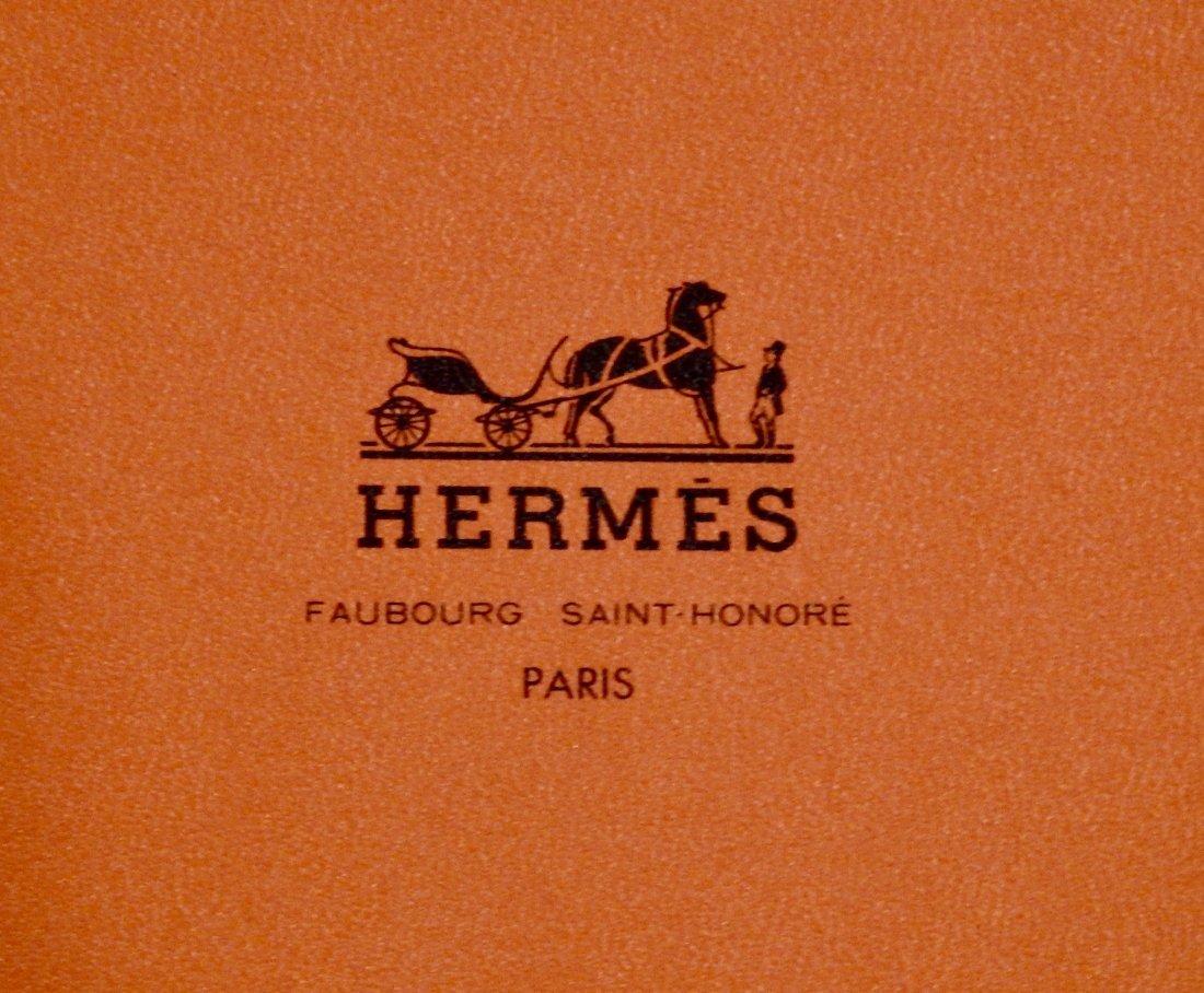 Hermes Coupons Indiens by Aline Honore Silk Pocket