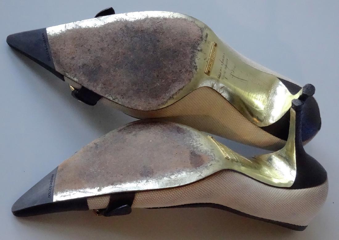 Dolce & Gabbana Pumps High Heels Designer Shoes - 6