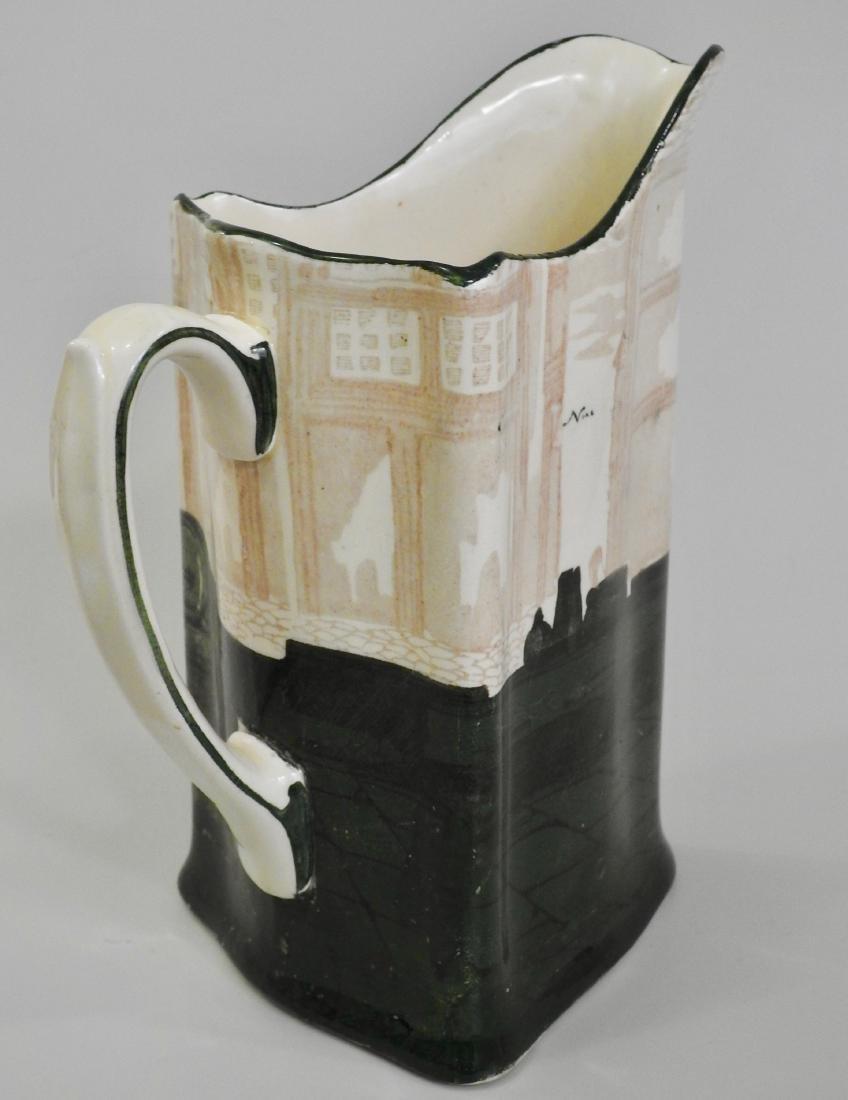 Antique Royal Doulton Noke Beckett Monk Jug Triangular - 2