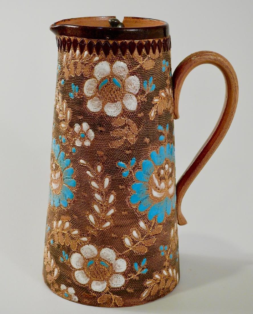 Aesthetic Doulton Lambeth Stoneware Water Jug Grayson &