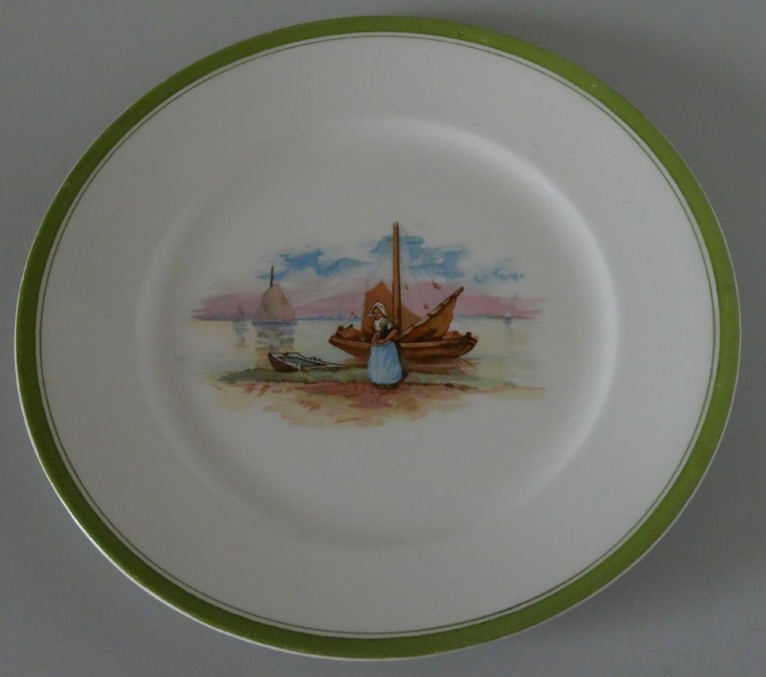 Edwin Knowles Semi Vitreous China Dutch Large Plate