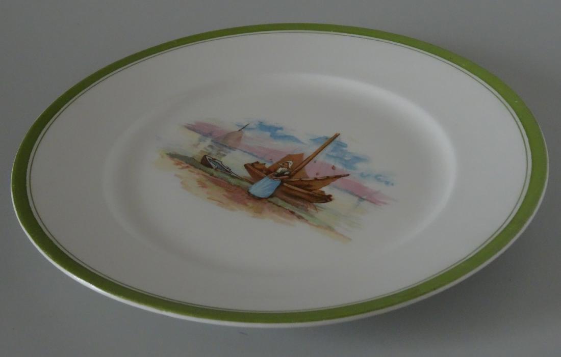 Edwin Knowles Semi Vitreous China Dutch Large Plate - 3