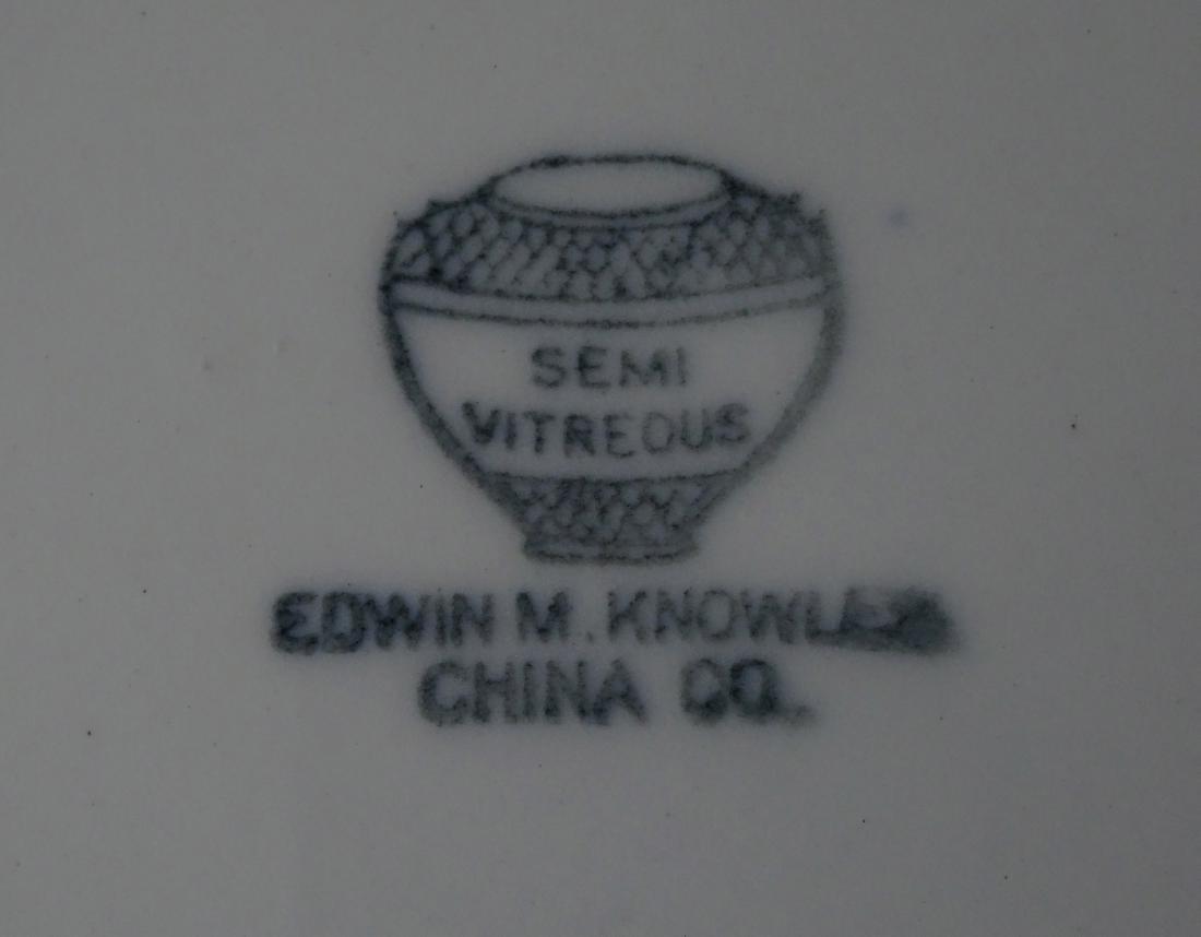 Edwin Knowles Semi Vitreous China Dutch Large Plate - 5