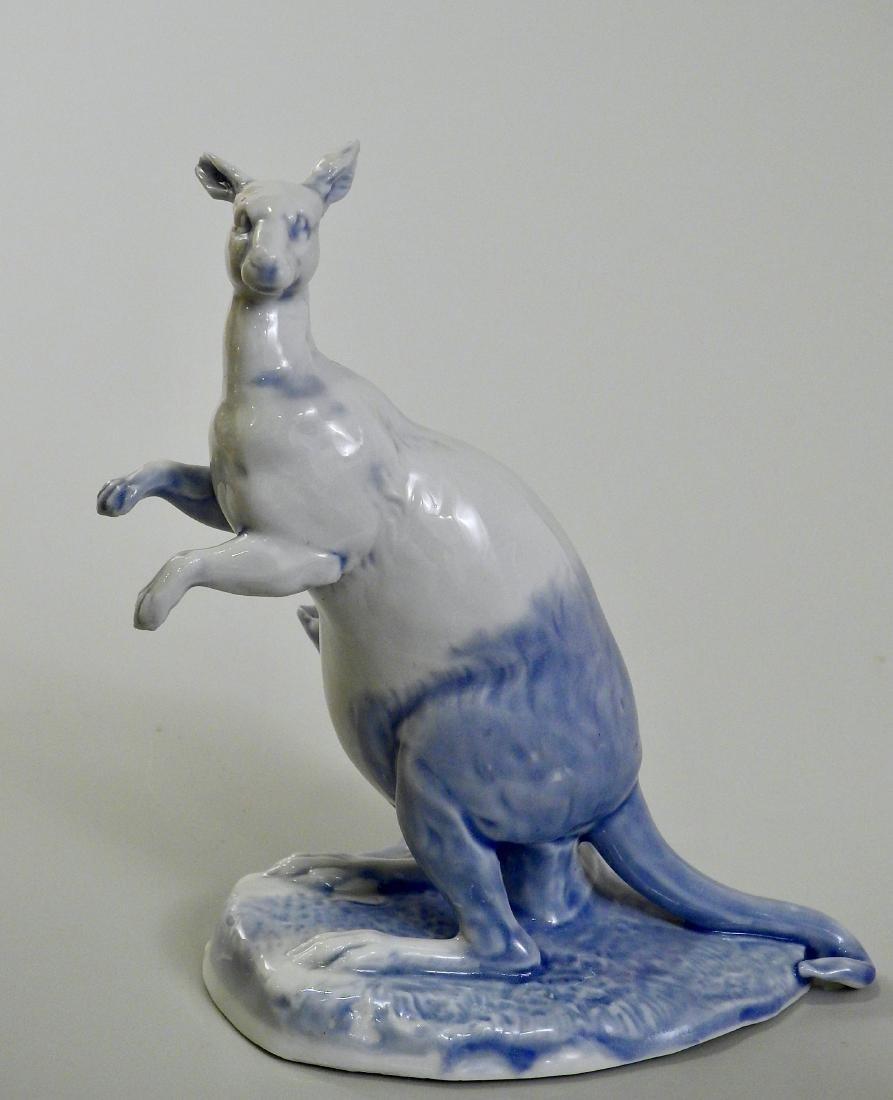 Blue Kangaroo Fine Antique German Glazed Porcelain
