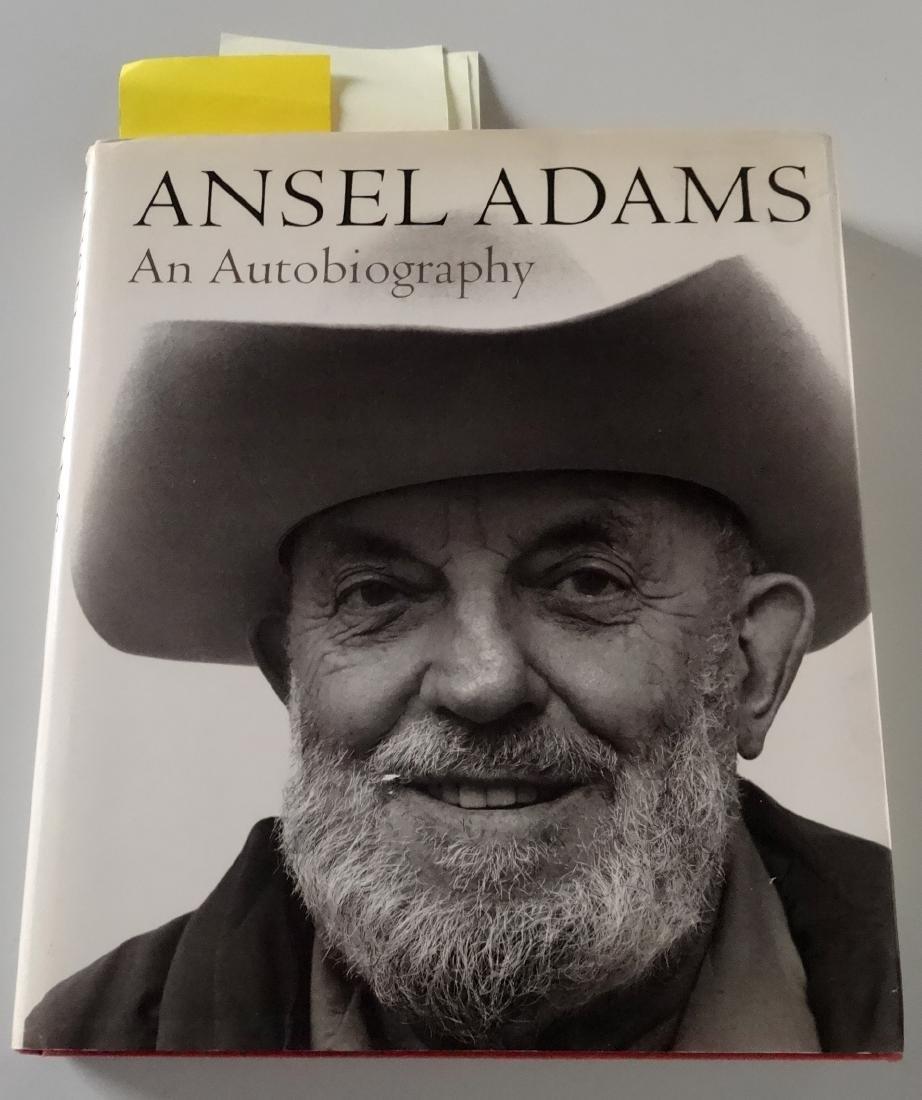 Ansel Adams An Autobiography Book 277 Illustrations