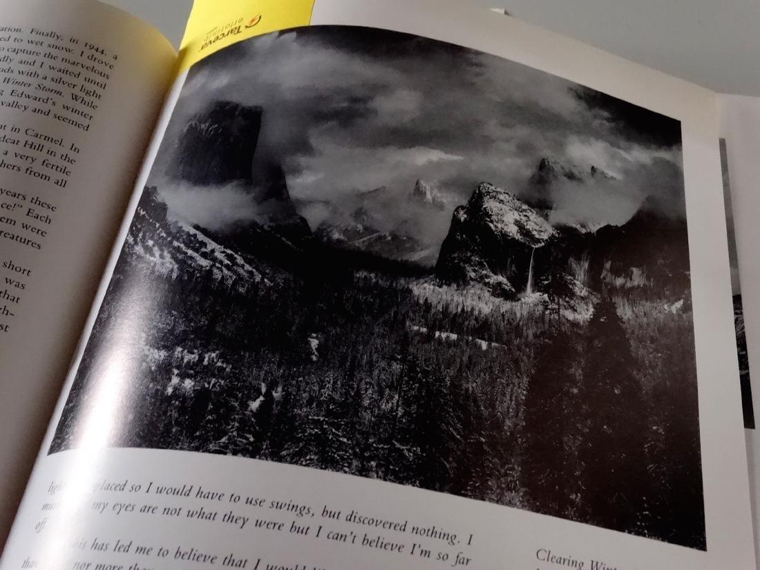 Ansel Adams An Autobiography Book 277 Illustrations - 3