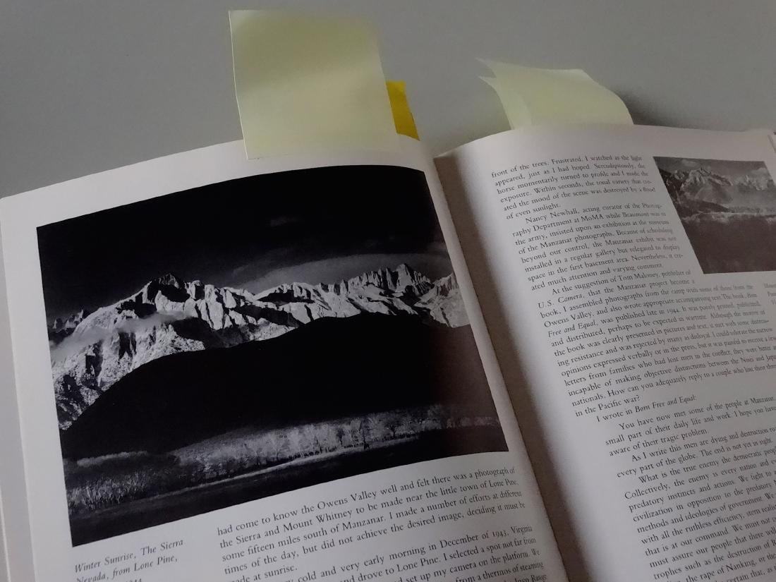 Ansel Adams An Autobiography Book 277 Illustrations - 4