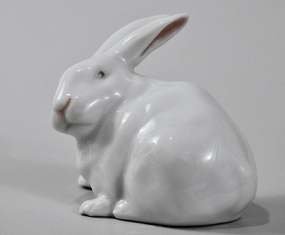 Royal Copenhagen Porcelain Rabbit Bunny Figurine