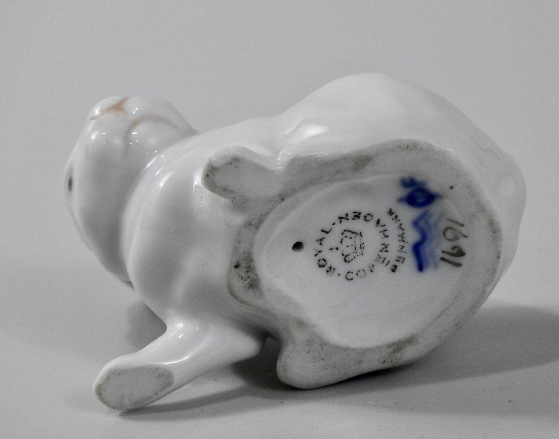 Royal Copenhagen Porcelain Rabbit Bunny Figurine - 3