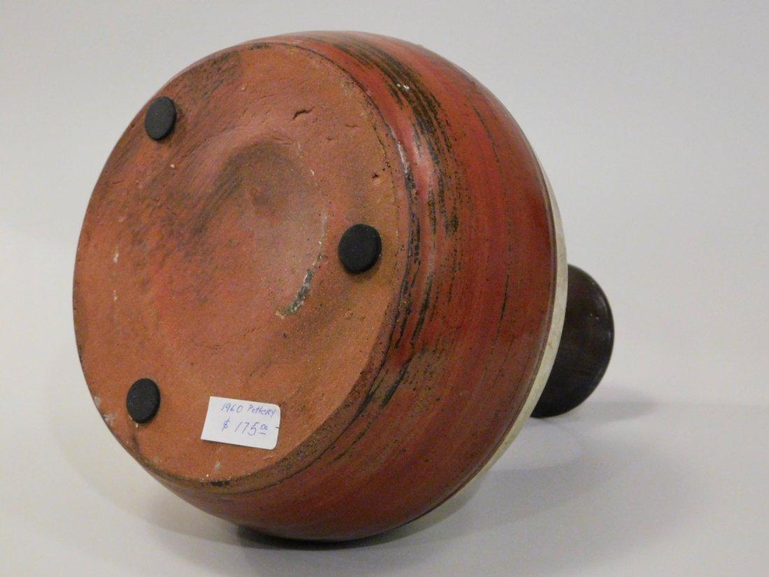 Vintage Mid Century Modern Studio Art Pottery Vase - 2