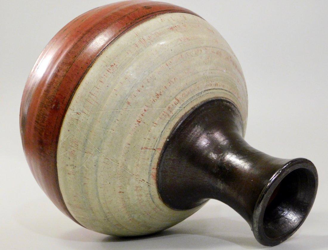 Vintage Mid Century Modern Studio Art Pottery Vase - 4