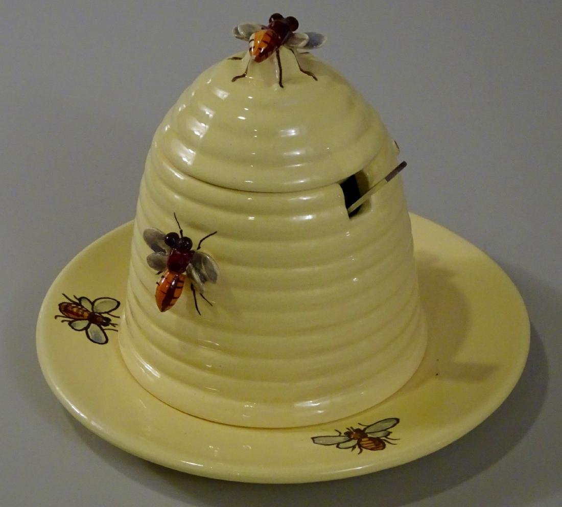 Beehive Bumble Bee Honey Pot Bombini Italian Art