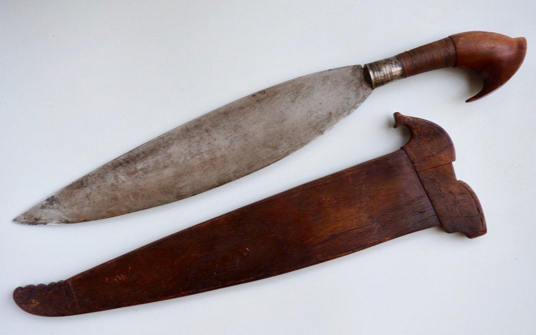 Antique Barong Sword Filipino Muslim Bolo Knife