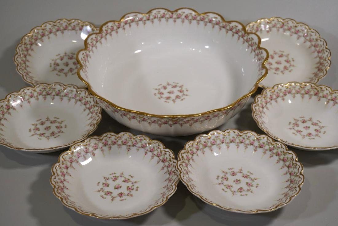 Theodore Haviland Limoges Porcelain Antique French Bowl