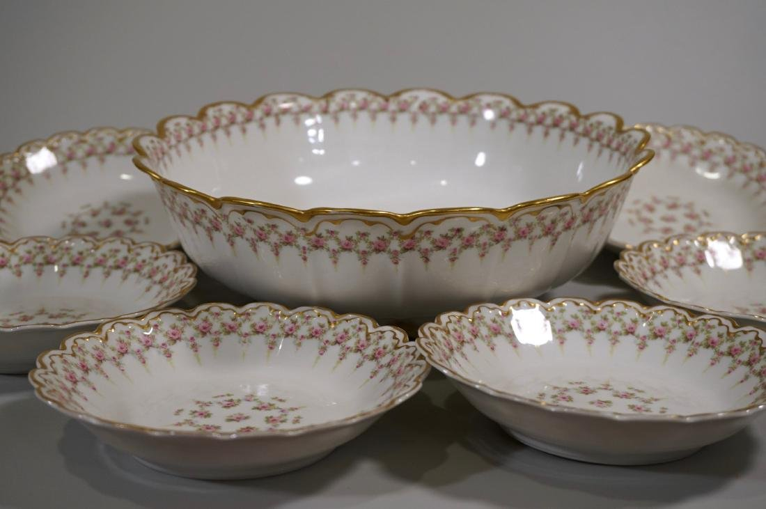 Theodore Haviland Limoges Porcelain Antique French Bowl - 2