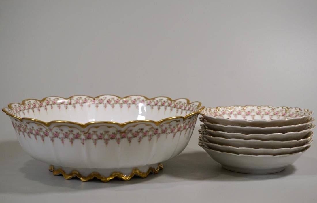 Theodore Haviland Limoges Porcelain Antique French Bowl - 3