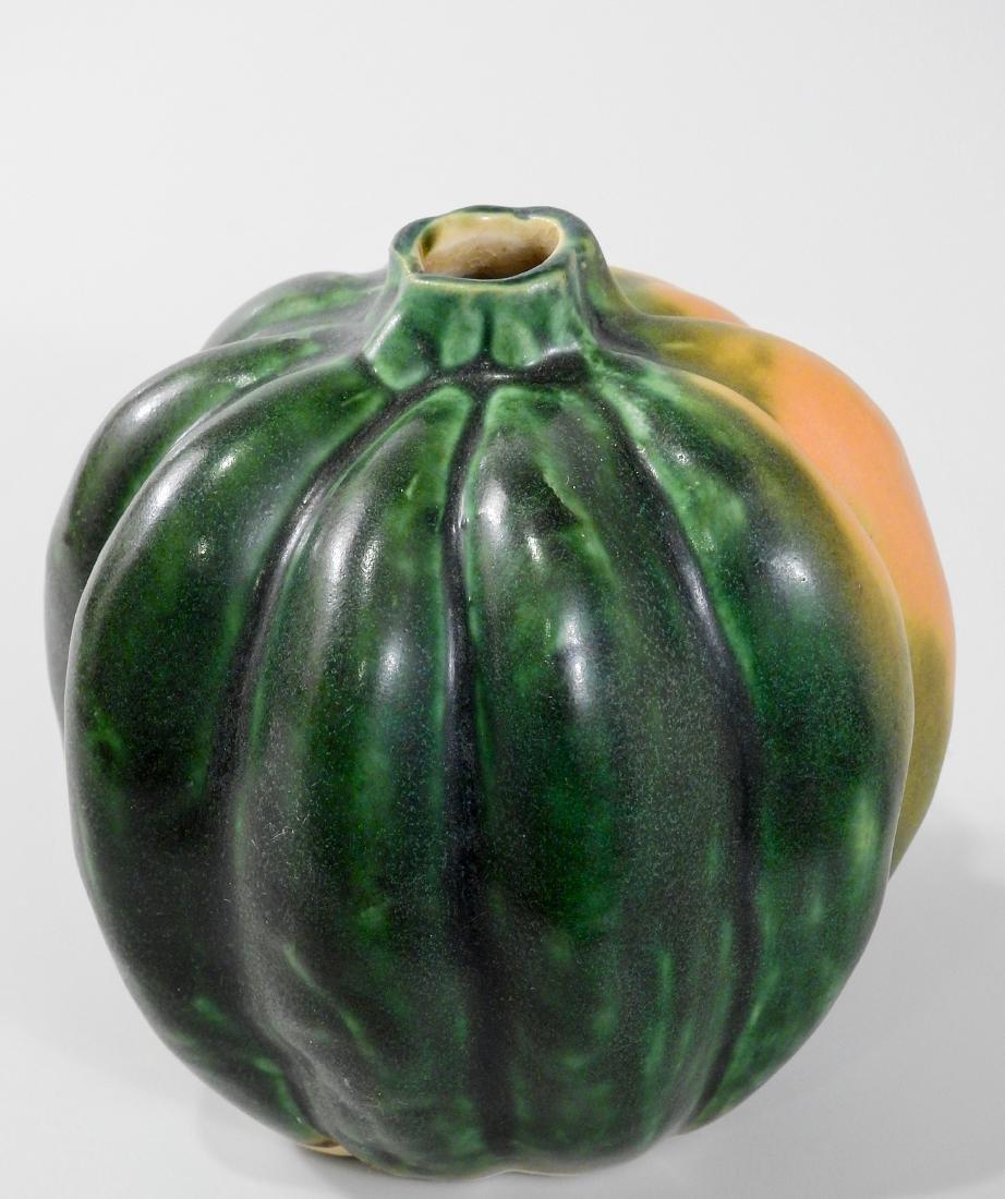 Patricia Garrett Studio Squash Vase California Art - 2